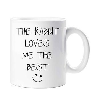 Die Kaninchen liebt mich den beste Becher