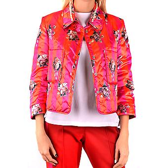 Golden Goose Ezbc011029 Women's Red Polyester Outerwear Jacket