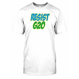 Motstå G20 Mens T-skjorte
