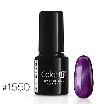 Gellack-Color IT-Premium-Cat Eye-* 1550 UV gel/LED