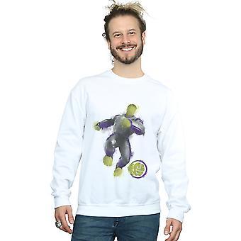 Marvel hommes Avengers Endgame peint Hulk Sweatshirt