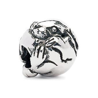 Trollbeads Chinese Zodiac Rabbit Silver Bead TAGBE-40023