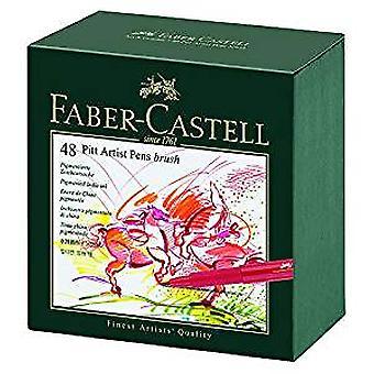 Faber-Castell Pitt Artist Pen Gift Box of 48 Colours (FC-167148)