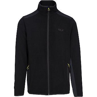 Trespass miesten Sturgess DLX täyden zip kontrasti fleece takki