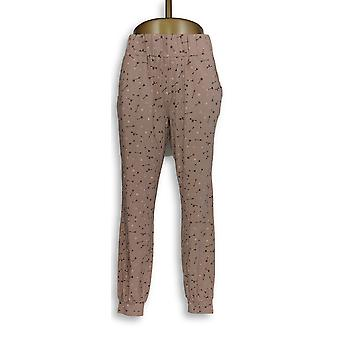 Anybody Women's Lounge Pants Loungewear Knit Novelty Print Pink A296084