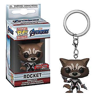 Avengers 4 Endgame raket os eksklusiv lomme pop! Nøglering