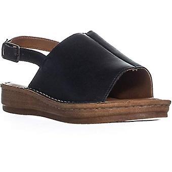 Bella Vita Womens Wit Leather Open Toe Casual Slingback Sandals