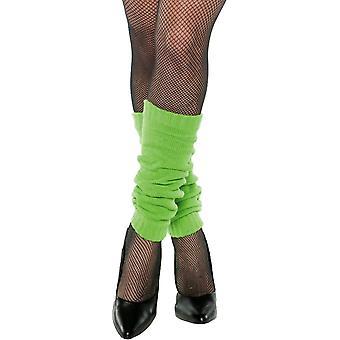 Leg Warmers Green Adult