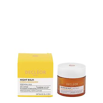 Decleor Night Balm Green Mandarin Essential Oils 15ml