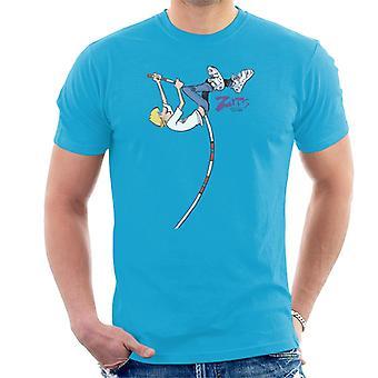 Zits Jeremy Pole Vaulting Men's T-Shirt