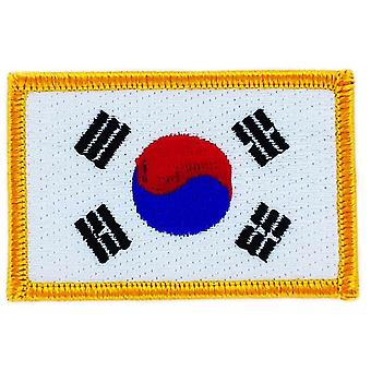 Patch Patch Patch Brode Süd Kern Flagge Coreen Thermocollant Blason Abzeichen