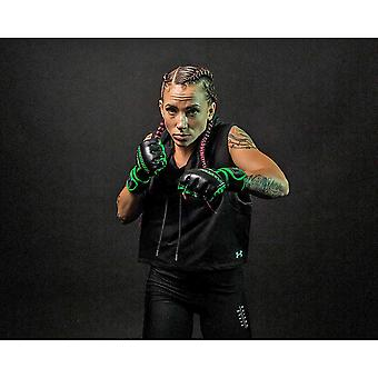 Title Boxing Matrix Quick Glove Wraps - Black/Neon Green