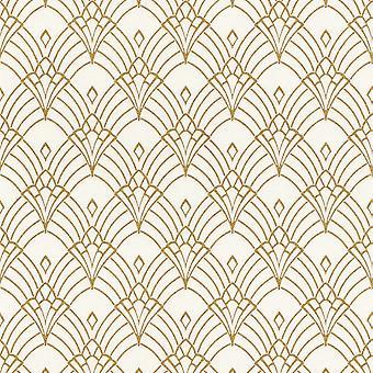 Modern Art Art Deco Astoria Wallpaper Rasch