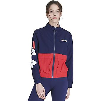 Fila Women's Miguela Track Top Navy/Red/White 83