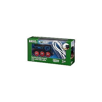 Brio 33599 Brio Rechargeable Engine With Mini USB Cable