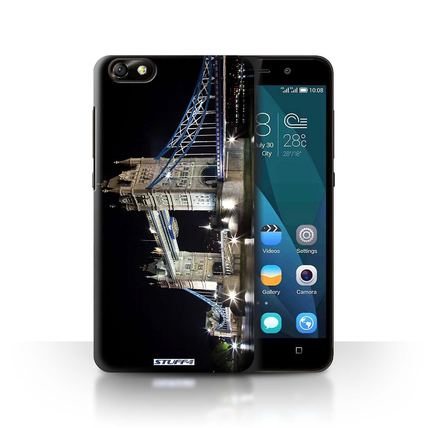 Stuff4 Case Cover For Huawei Glory Play 4x Tower Bridge