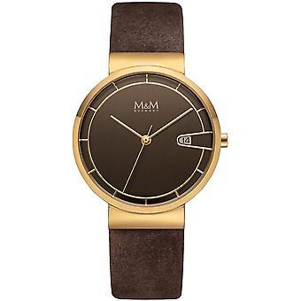 M et M Allemagne M11953-515 Date Ladies Watch