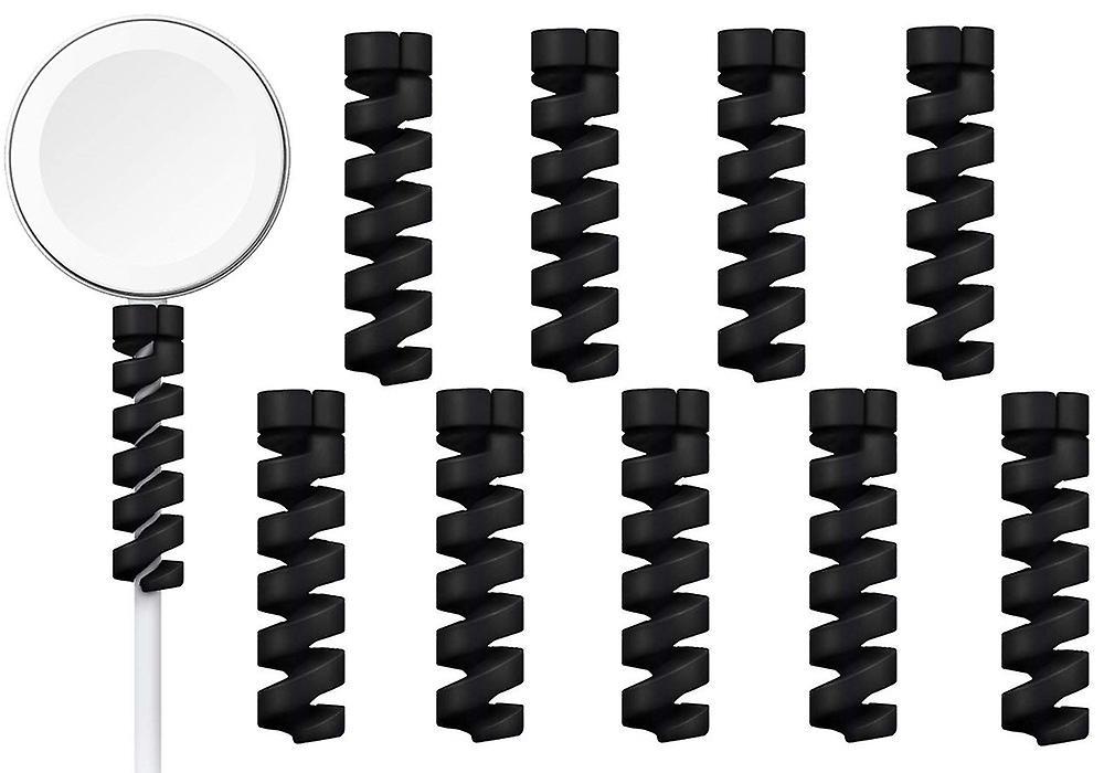 10-pack Spiral kabelskydd - Bites - Laddare
