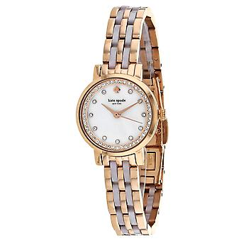 Kate Spade Women's Mini Monterey Mother of Pearl Dial Watch - KSW1265