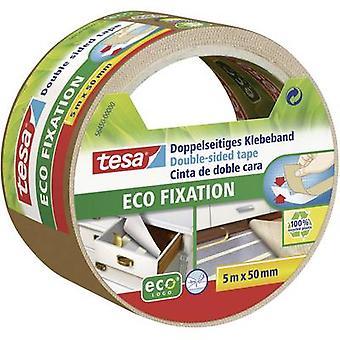 tesa 56450 56450-00 شريط لاصق مزدوج الجانب tesa® ECO FIXAtION (L x W) 5 م × 50 مم 5 م