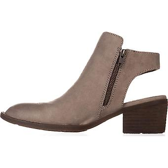 Born Womens Margrit Leather Closed Toe Ankle Clog Boots