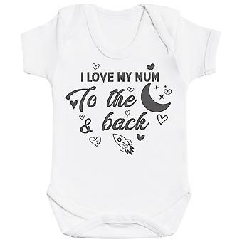 Love Mum And Baby To Infinity - Ensemble assorti - Body-shirt pour bébé et t-shirt maman