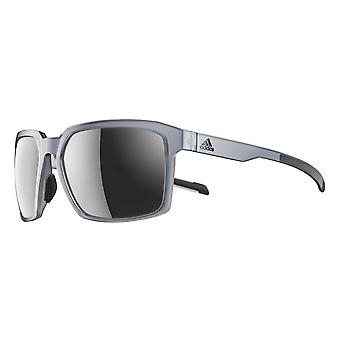 Occhiali da sole adidas Evolver SPX Frame Sport - Grey Transparent - Chrome
