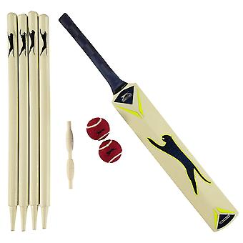 Slazenger Unisex V1000 Cricket Set