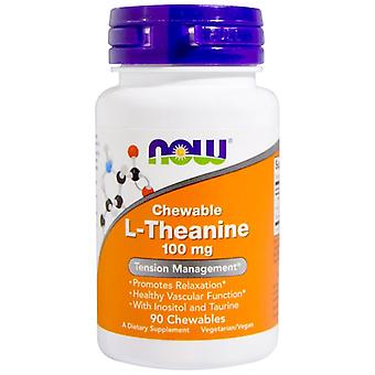 L-Theanin 100 mg (90 Kautabletten) - Now Foods
