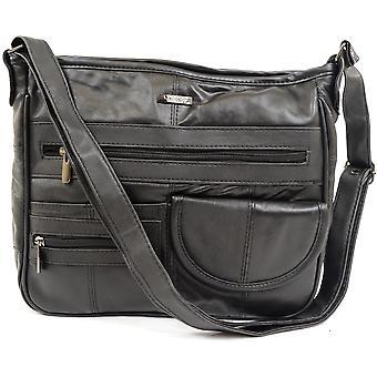レディース/レディースの柔らかいナッパ革実用的な/フォーマル/ハンドバッグ/ショルダー バッグ