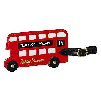 London Bus Luggage Tag by Tatty Devine