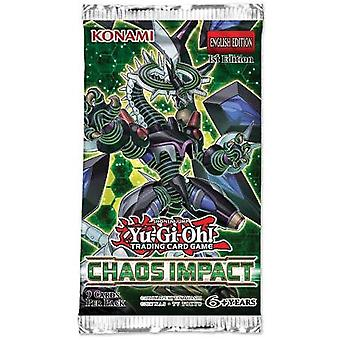 Yu-Gi-Oh! Chaos Impact Booster Packet 1x