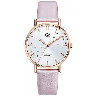 Watch Go Girl Only 699303 - Steel Box Dor Pink Leather Bracelet Pink Women