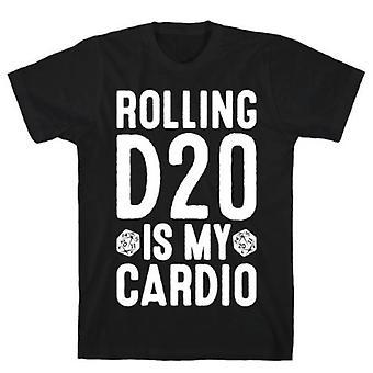 Rolling d20 est mon t-shirt cardio