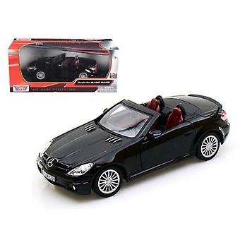 Mercedes Slk 55 Amg Schwarz 1/24 Diecast Auto Modell von Motormax