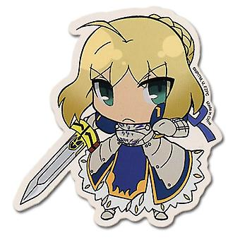 Sticker - Fate/Zero - New SD Saber Toys Gifts Anime Licensed ge55118