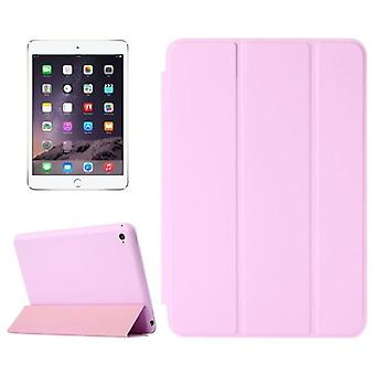 Voor iPad Mini 4 Case, Smart High-Quality Sustainable Shielding Cover, Roze