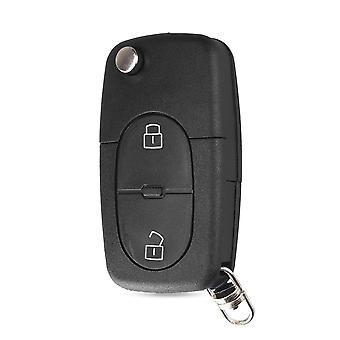 2ボタン車キーカバーケースアウディCR1620