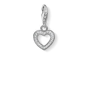 Thomas Sabo Zirconia Open Heart Charm 0930