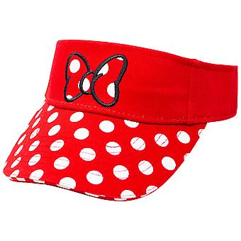 Minnie Mouse Red Polka Dot Visor