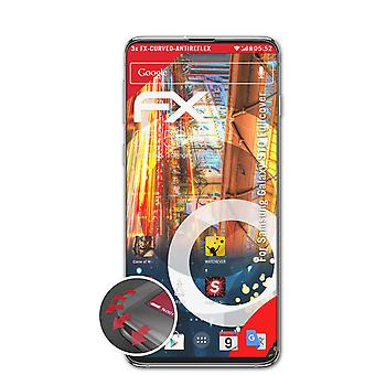 atFoliX 3x Protective Film compatible with Samsung Galaxy S10 Fullcover clear&flexible