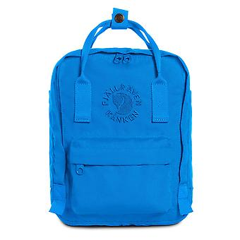 Fjallraven - Re-Kanken Mini Special Edition Recycled Backpack for Everyday - UN Blue