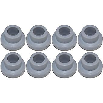 8 x Dishwasher Upper Basket Wheels To Fit Bosch SMS Siemens SN Series