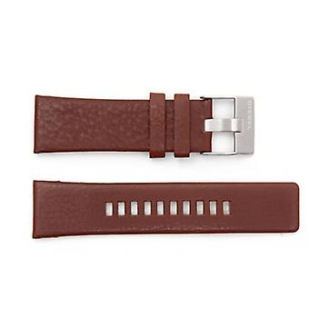 Authentic diesel leather watch strap for  dz1206