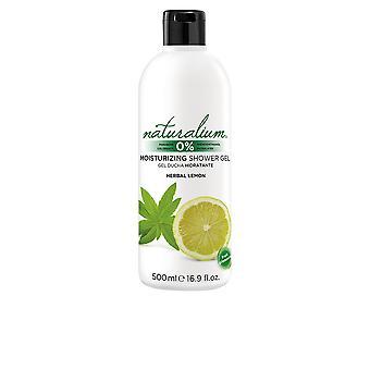 Naturalium växtbaserade citron dusch Gel 500 Ml Unisex