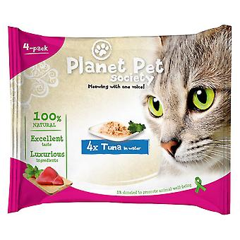 Planet Pet Snack para Gato Pouch Pack Atun (Cats , Cat Food , Wet Food)