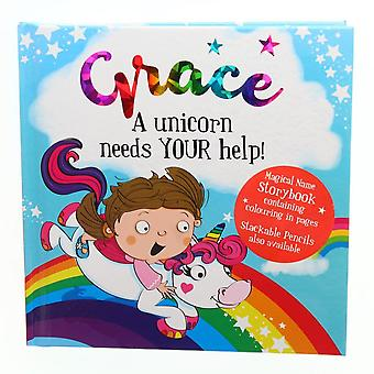 History & Heraldry Magical Name Storybook - Grace
