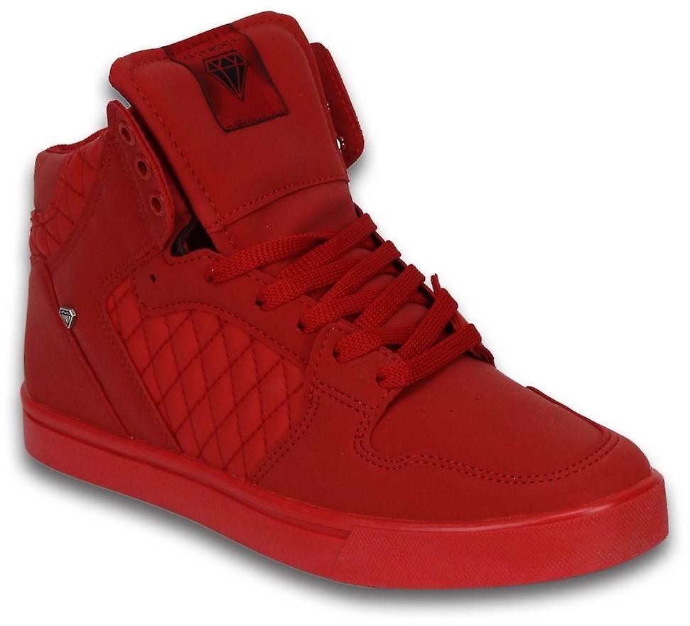 Sko - Sneaker High Jailor Red Matt Full Re