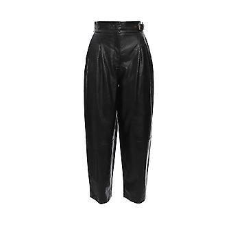 Twin-set 192tt203c00006 Women's Black Nylon Pants