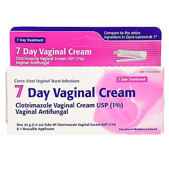 Taro clotrimazole vaginal cream, 7 day treatment, 1.5 oz
